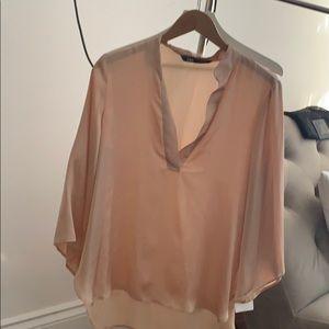 Beautiful satin blouse